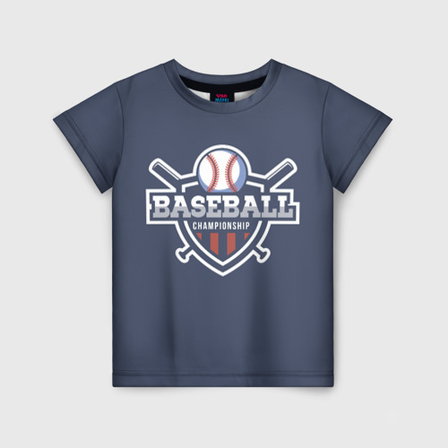 Детская футболка 3D Baseball