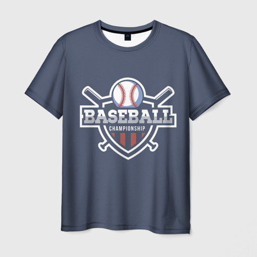 Мужская футболка 3D Baseball