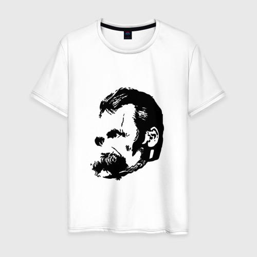 Мужская футболка хлопок Фридрих Ницше Безумие
