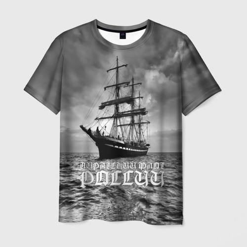 Мужская футболка 3D Пиратский флот России