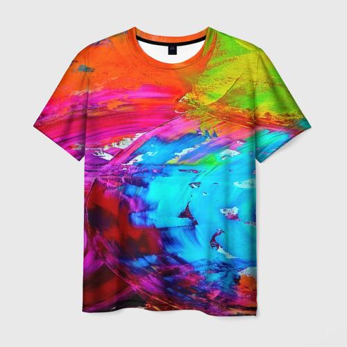 Мужская футболка 3D Tie-dye