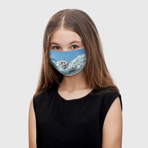 Детская маска (+5 фильтров) Лыжный спорт