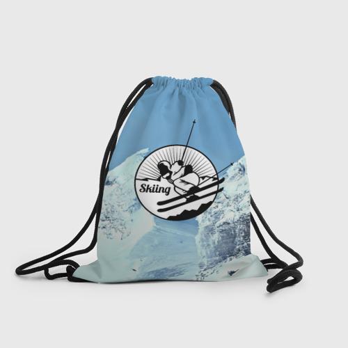 Рюкзак-мешок 3D Лыжный спорт