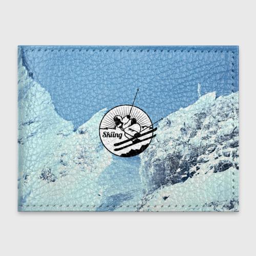 Обложка для студенческого билета Лыжный спорт
