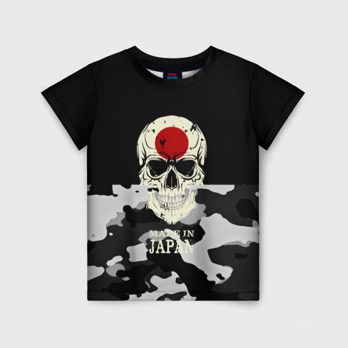 Детская футболка 3D Made in Japan