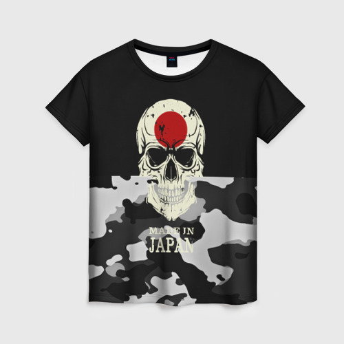Женская футболка 3D Made in Japan