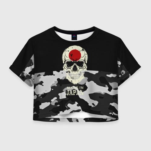 Женская футболка Crop-top 3D Made in Japan
