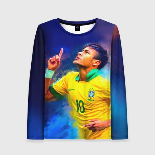 Женский лонгслив 3D Neymar