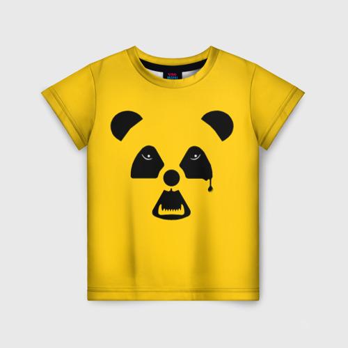 Детская футболка 3D Радиоактивная природа