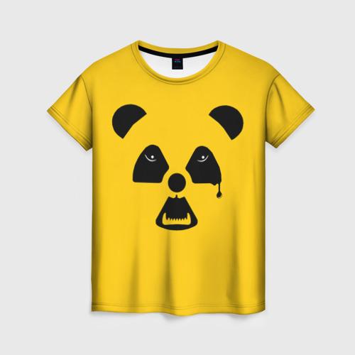 Женская футболка 3D Радиоактивная природа