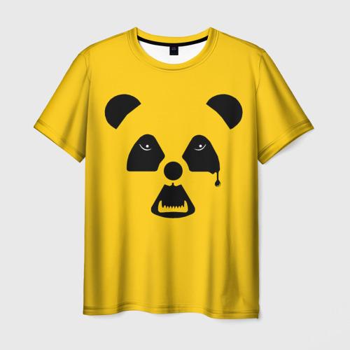 Мужская футболка 3D Радиоактивная природа