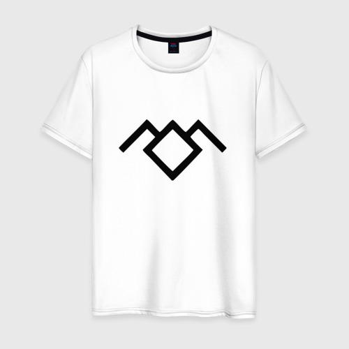 Мужская футболка хлопок Твин Пикс лого