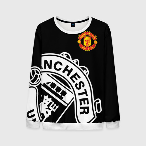 Мужской свитшот 3D Manchester United - Collections 2017 / 2018