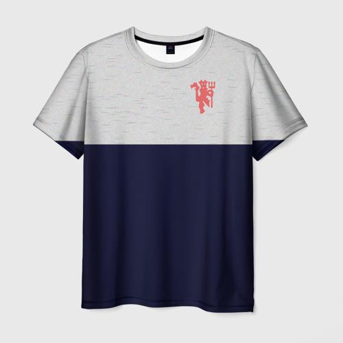 Мужская футболка 3D Manchester United - Vintage style