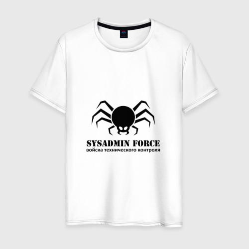 Мужская футболка хлопок Sysadmin Force