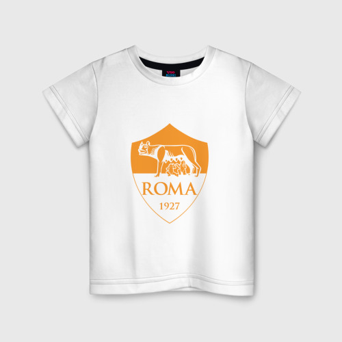 Детская футболка хлопок A S Roma - Autumn Top