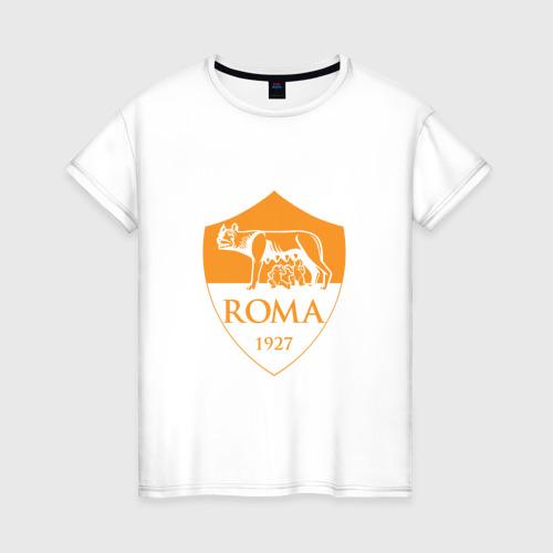 Женская футболка хлопок A S Roma - Autumn Top
