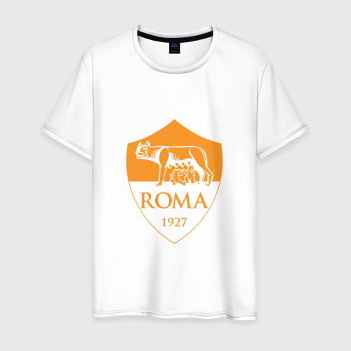 Мужская футболка хлопок A S Roma - Autumn Top