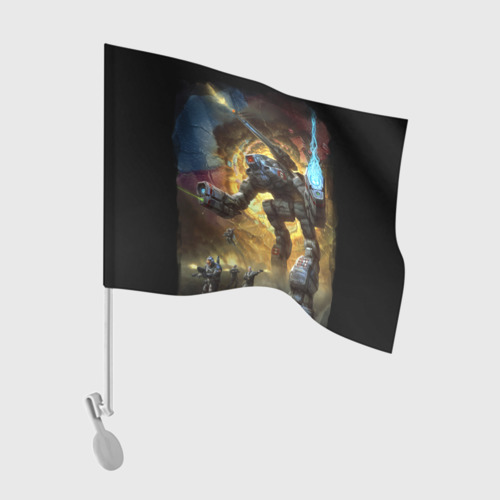 Флаг для автомобиля BattleTech