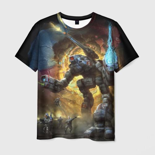 Мужская футболка 3D BattleTech