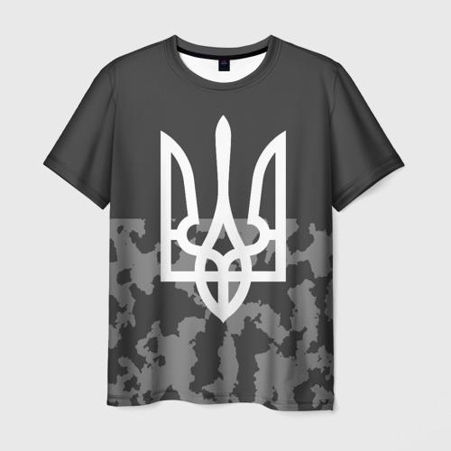 Мужская футболка 3D УКРАИНА МИЛИТАРИ