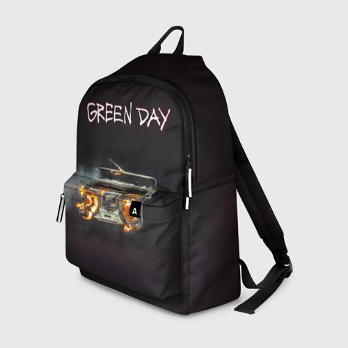 Рюкзак 3D Green Day магнитофон в огне