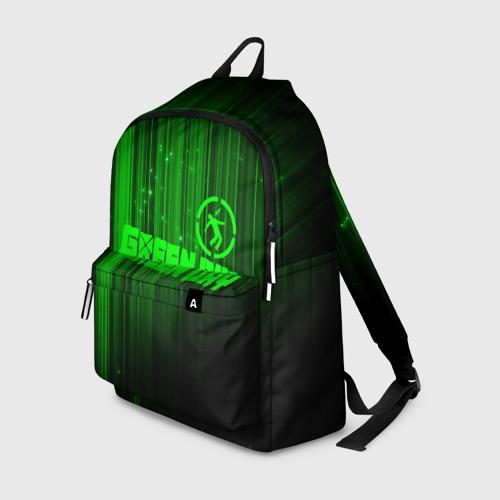 Рюкзак 3D Green Day лучи