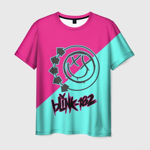 Мужская футболка 3D Blink-182