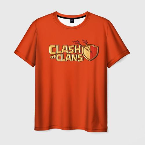 Мужская футболка 3D Clash of Clans