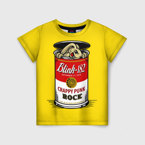 Детская футболка 3D Crappy punk rock