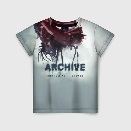 Детская футболка 3D Archive controlling crowds