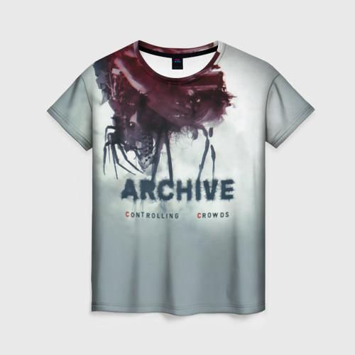 Женская футболка 3D Archive controlling crowds