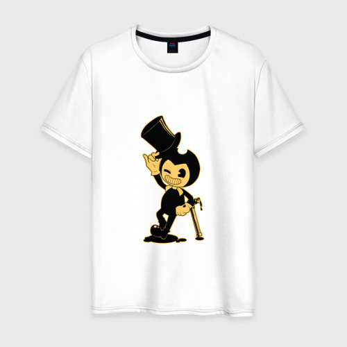 Мужская футболка хлопок Bendy and the ink machine (11)