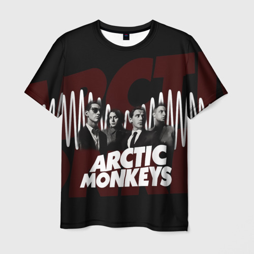 Мужская футболка 3D Группа Arctic Monkeys