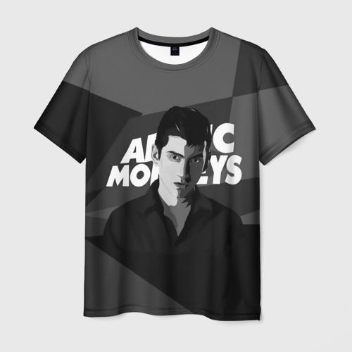 Мужская футболка 3D Солист Arctic Monkeys