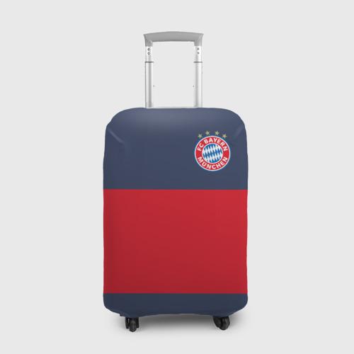 Чехол для чемодана 3D Bayern Munchen - Red-Blue FCB (2018 NEW)