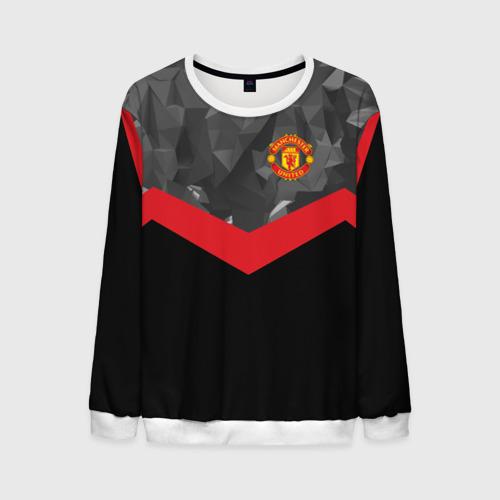 Мужской свитшот 3D Manchester United 2018 14