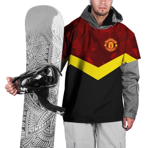 Накидка на куртку 3D Manchester United 2018 17