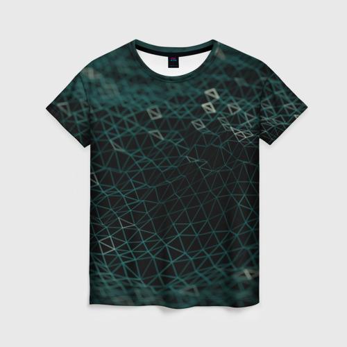 Женская футболка 3D Технологии