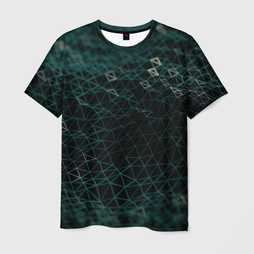Мужская футболка 3D Технологии