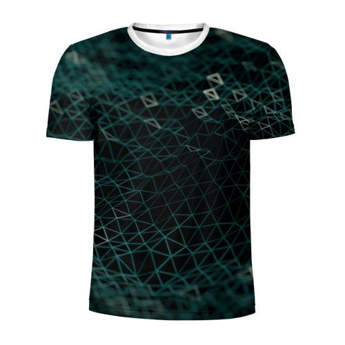 Мужская футболка 3D спортивная Технологии