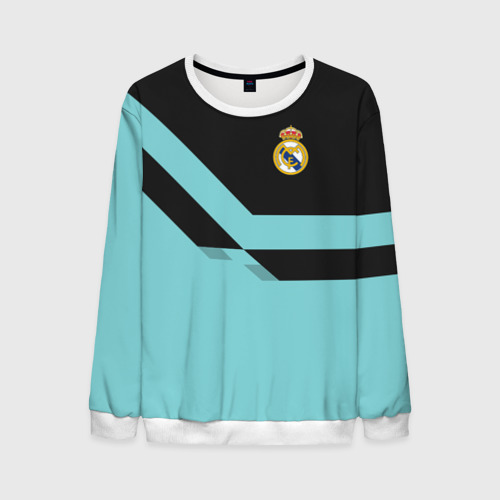 Мужской свитшот 3D Real Madrid 2018 2