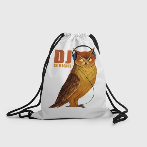 Рюкзак-мешок 3D Диджей прав