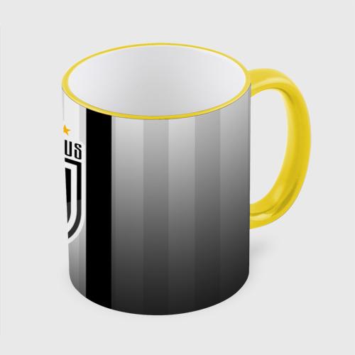 Кружка с полной запечаткой Ювентус Новый Логотип