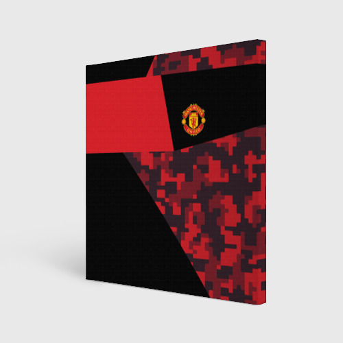 Холст квадратный Manchester United 2018 Sport