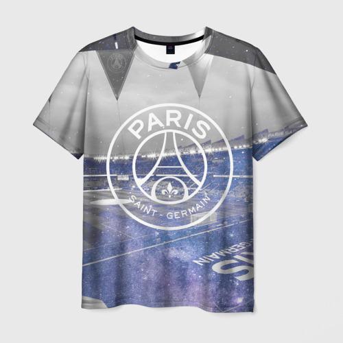 Мужская футболка 3D PSG