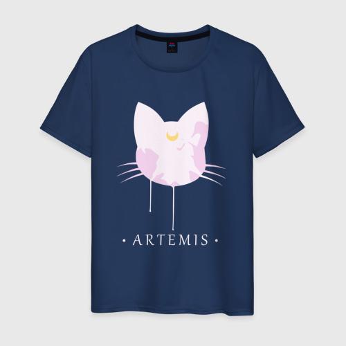 Мужская футболка хлопок Artemis cat