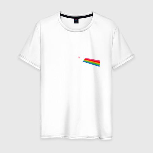 Мужская футболка хлопок Лунная палочка