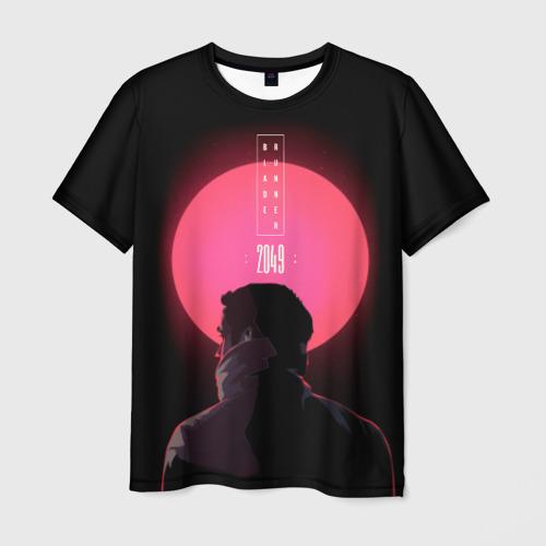 Мужская футболка 3D Бегущий по лезвию