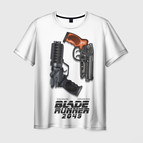 Мужская футболка 3D Бегущий по лезвию 2049
